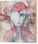 Mylth  Wood Print