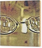 Myopia At The Museum Wood Print