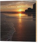 Myrtle Beach Sunset Wood Print