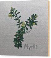 Myrtle Wood Print