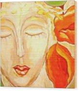 Mysteres De Femmes Wood Print
