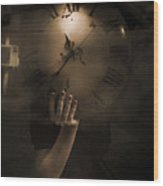 Mysteries Of Time Wood Print
