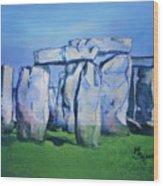 Mysterious Monoliths Wood Print
