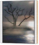 Mystery Tree Wood Print