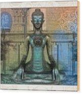 Mystic Ancient Prayers  Wood Print