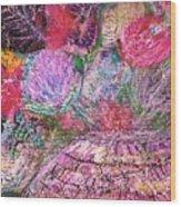 Mystic Bouquet  Wood Print