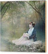 Mystic Contemplation Wood Print