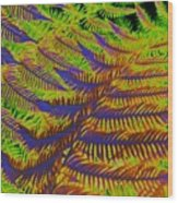 Mystic Fern Wood Print
