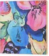 Mystic Garden Wood Print