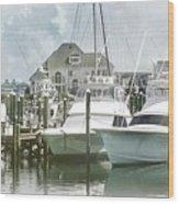 Mystic Harbour Wood Print