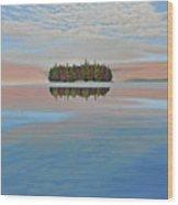Mystic Island Wood Print