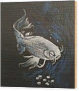 Mystic Koi Wood Print