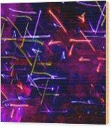 Mystic Lights 8 Wood Print