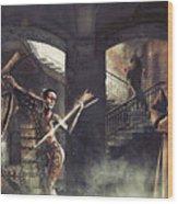 Mystic Man Wood Print