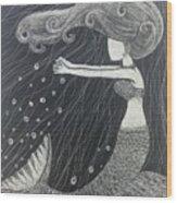 Mystic Mermaid Wood Print