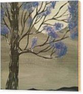 Mystic Moon Wood Print