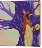 Mystic Powers of The Medicine Man Wood Print