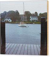 Mystic Seaport #3 Wood Print