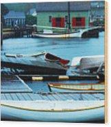 Mystic Seaport #5 Wood Print