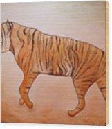 Mystic Tiger Wood Print