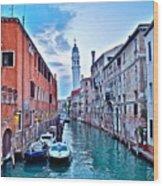 Mystic Venice Wood Print