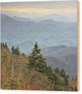 Blue Ridge Mountain 3 Wood Print