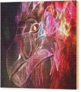 Mystical Dragon 2 Wood Print