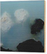 Mystical Island - Healing Waters Wood Print