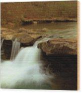 Mystical King River Falls Wood Print