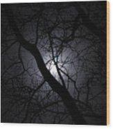Mystical Moon Wood Print