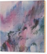Mystical Mountains Wood Print