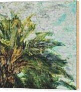 Mystical Palm Wood Print