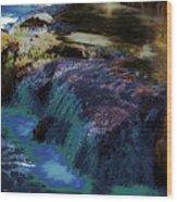 Mystical Springs Wood Print