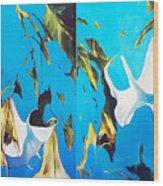 Mysticoblue Wood Print