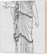Mythology: Hera/juno Wood Print