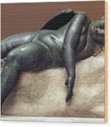 Mythology: Sleeping Eros Wood Print