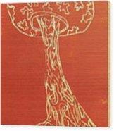 Myxomycetes 4 Wood Print