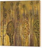 Myxomycetes Wood Print