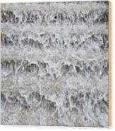 N Y C Waterfall Wood Print