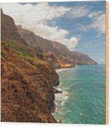 Na Pali Coast 5 Wood Print