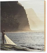 Na Pali Coast Wood Print