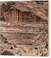 Nabatean's Stadium Wood Print