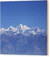 Nagarkot View Wood Print