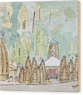 Nagesh Jyotirling Wood Print