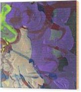 Nail Polish Abstract 15-r11 Wood Print