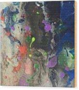 Nail Polish Abstract 15-w11 Wood Print