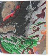 Nail Polish Abstract 15-z11 Wood Print