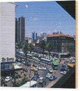 Nairobi City Wood Print