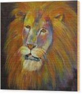 Naja, Lion  Wood Print