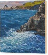 Nakalele Point Maui Wood Print